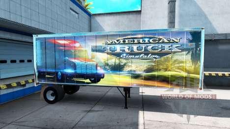 Скин ATS на полуприцеп для American Truck Simulator