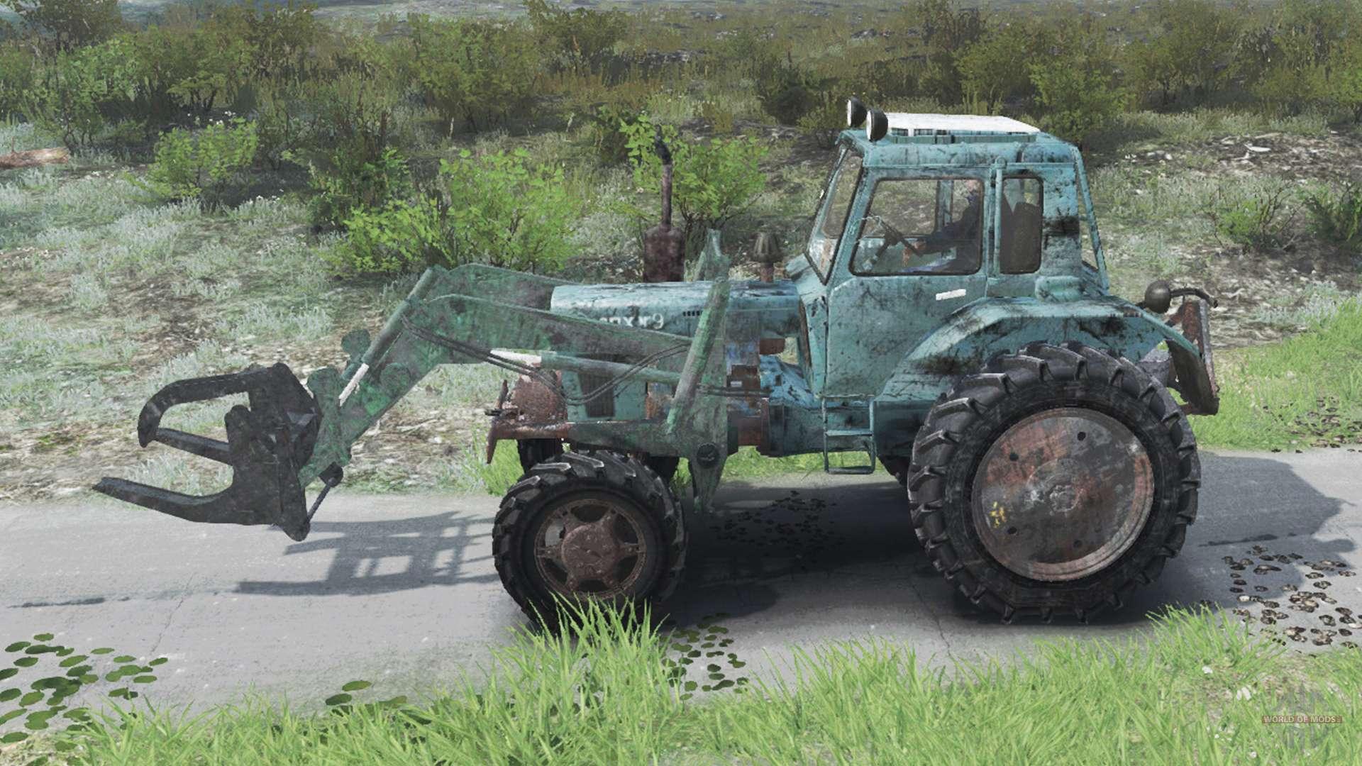 скачать мод трактора на спин тирес машины 03.03.16