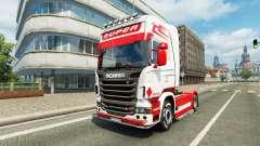 Скин Holland Style на тягач Scania