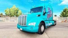 Скин American Truck на тягач Peterbilt