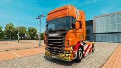 Скин Heavy Transport на тягач Scania