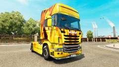 Скин Fire на тягач Scania
