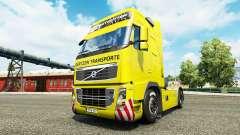 Скин Gertzen Transporte на тягач Volvo