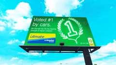 Реальные торговые марки на билборды