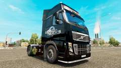 Скин World of Trucks на тягач Volvo