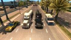 Больше грузовиков в трафике