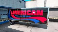 Скины UPS и American Trailer Works на полуприцеп