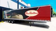 Скин Tim Hortons на полуприцеп