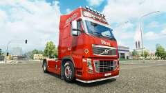 Скин Lognet v2.0 на тягач Volvo