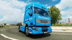 Скин Carstensen на тягач Renault