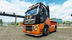 Скин Racing Team на тягач Volvo