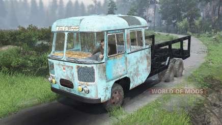 ПАЗ-672 Химера [03.03.16] для Spin Tires