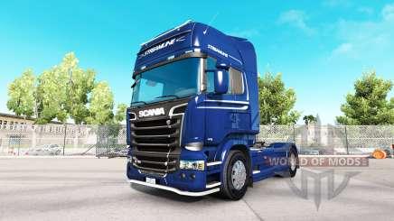 Scania R730 Streamline для American Truck Simulator