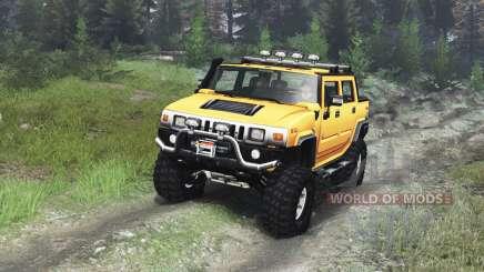 Hummer H2 [03.03.16] для Spin Tires