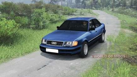 Audi 100 C3 Quattro [03.03.16] для Spin Tires