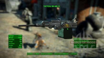 WH-Mk22 Heavy Machinegun для Fallout 4