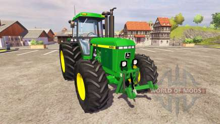 John Deere 4455 v2.3 для Farming Simulator 2013