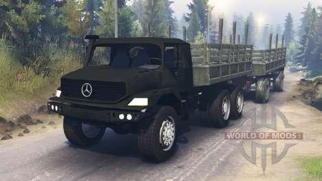 Mercedes-Benz Zetros 2733 для Spin Tires