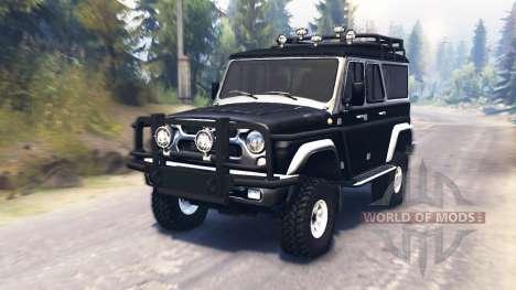УАЗ-3159 для Spin Tires