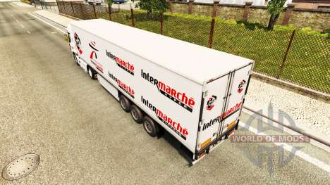 Скин Intermarket на тягач Renault для Euro Truck Simulator 2