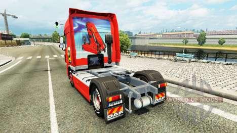 Скин Palfinger на тягач DAF для Euro Truck Simulator 2