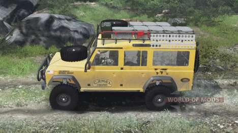 Land Rover Defender 110 Camel Trophy [03.03.16] для Spin Tires