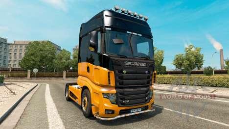 Scania R700 v2.5 для Euro Truck Simulator 2