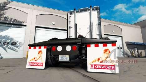 Брызговики Back off для American Truck Simulator