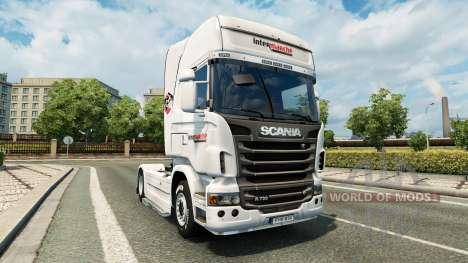 Скин Intermarket на тягач Scania для Euro Truck Simulator 2