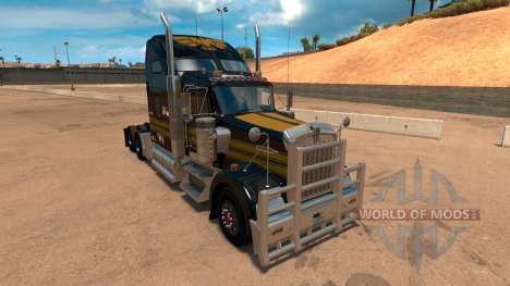 Kenworth W900 Golden Firebird Skin для American Truck Simulator
