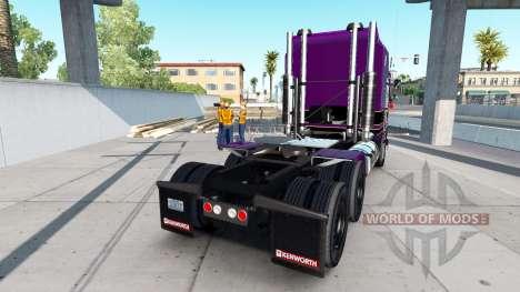 Скин Conrad Shada на тягач Kenworth K100 для American Truck Simulator