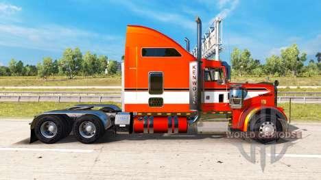 Скин Metallic на тягач Kenworth W900 для American Truck Simulator