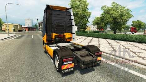 Скин MHE на тягач Volvo для Euro Truck Simulator 2