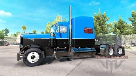 Скин Hot Road Rigs на тягач Peterbilt 389 для American Truck Simulator
