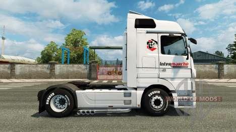 Скин Intermarket на тягач Mercedes-Benz для Euro Truck Simulator 2