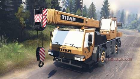 Liebherr LTM 1030 [03.03.16] для Spin Tires