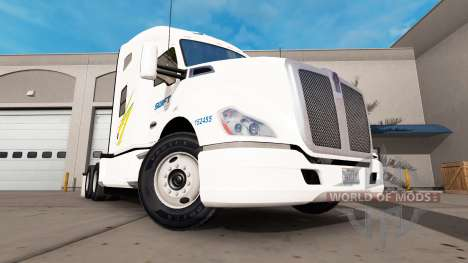 Скин Swift на тягач Kenworth для American Truck Simulator