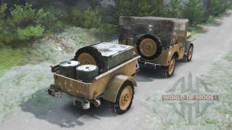 Jeep Willys 1942 [03.03.16] для Spin Tires