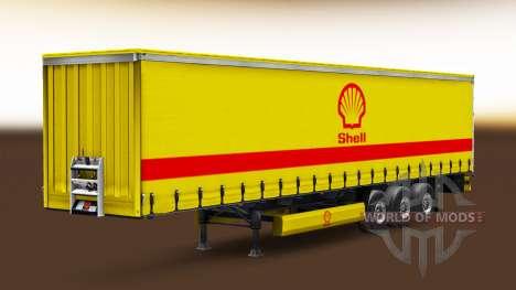 Скины реальных компаний на полуприцепы для Euro Truck Simulator 2