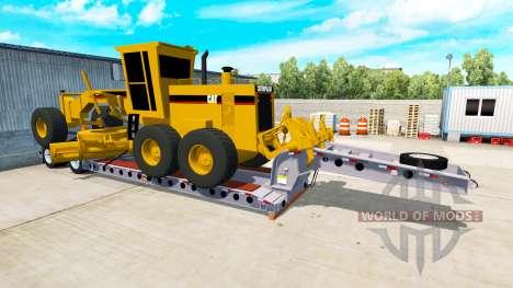 Низкорамный трал Cozad Expando для American Truck Simulator