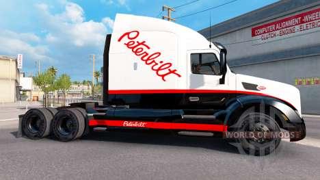 Скин Peterbilt на тягач Peterbilt для American Truck Simulator