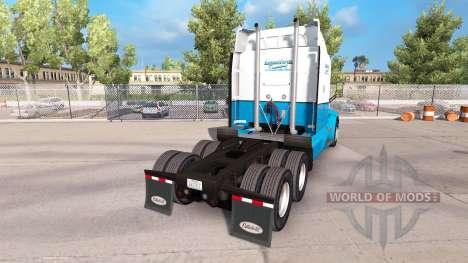 Скин Long Haul Trucking на тягач Peterbilt для American Truck Simulator