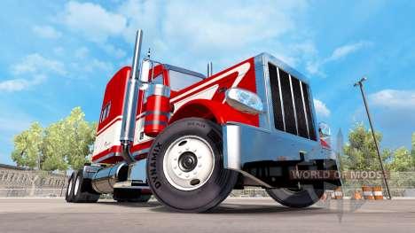 Скин Viper на тягач Peterbilt 389 для American Truck Simulator