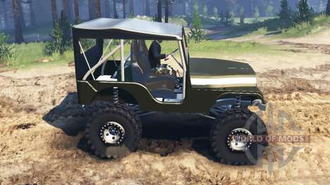 Jeep Willys 1963 для Spin Tires