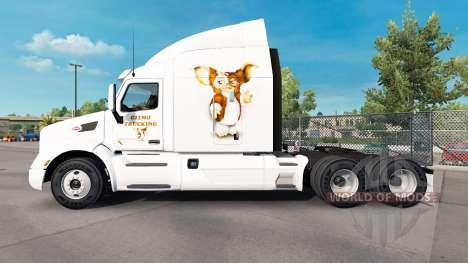 Скин Gizmo на тягач Peterbilt для American Truck Simulator