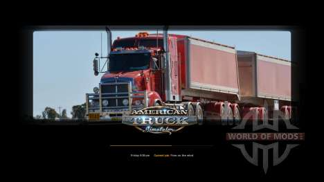 Новые загрузочные экраны для American Truck Simulator