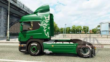 Scania P340 для Euro Truck Simulator 2