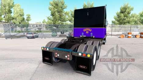 Скин Chopped 93 на тягач Peterbilt 389 для American Truck Simulator