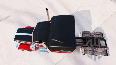 Скин Big&Little на тягач Peterbilt 389 для American Truck Simulator