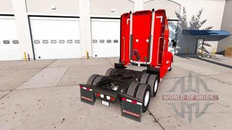 Скин Dr Pepper на тягач Kenworth для American Truck Simulator